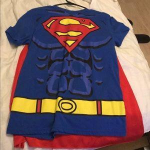 Superman Shirt Sz M